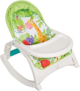 DELUXE 3 IN 1 BABY TO TODDLER ROCKER BOUNCER CHAIR W/DINNING TRAY