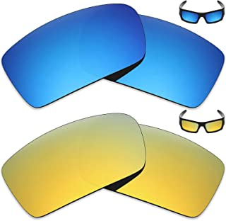 a431f6b251 MRY 2 pares polarizadas Lentes de repuesto para Oakley Gascan – Gafas de sol,  Color