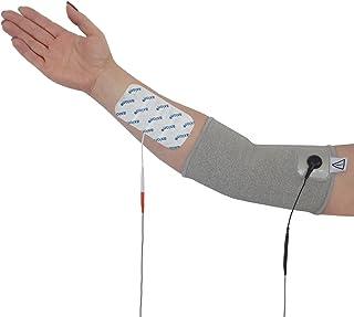 Codera para electroestimulation TENS EMS - + 4 electrodos -