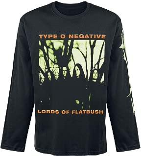 Men's October Rust Long Sleeve Black