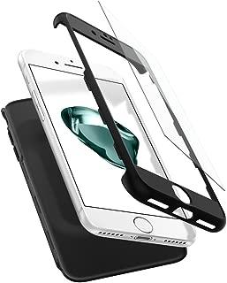 【Spigen】 スマホケース iPhone7 ケース 対応 360度保護 レンズ保護 衝撃 吸収 シン・フィット360 042CS21098 (ブラック)
