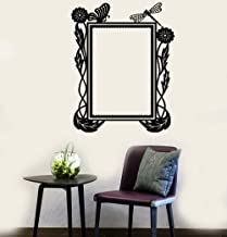 Quierz Lettering Words Wall Mural DIY Removable Sticker Decoration Natural Picture Frame for Living Room Bedroom