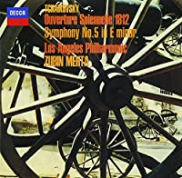 チャイコフスキー:交響曲第5番、大序曲「1812年」