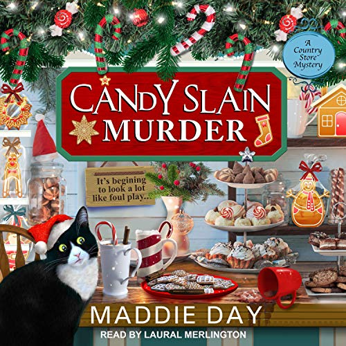 Candy Slain Murder Audiobook By Maddie Day cover art