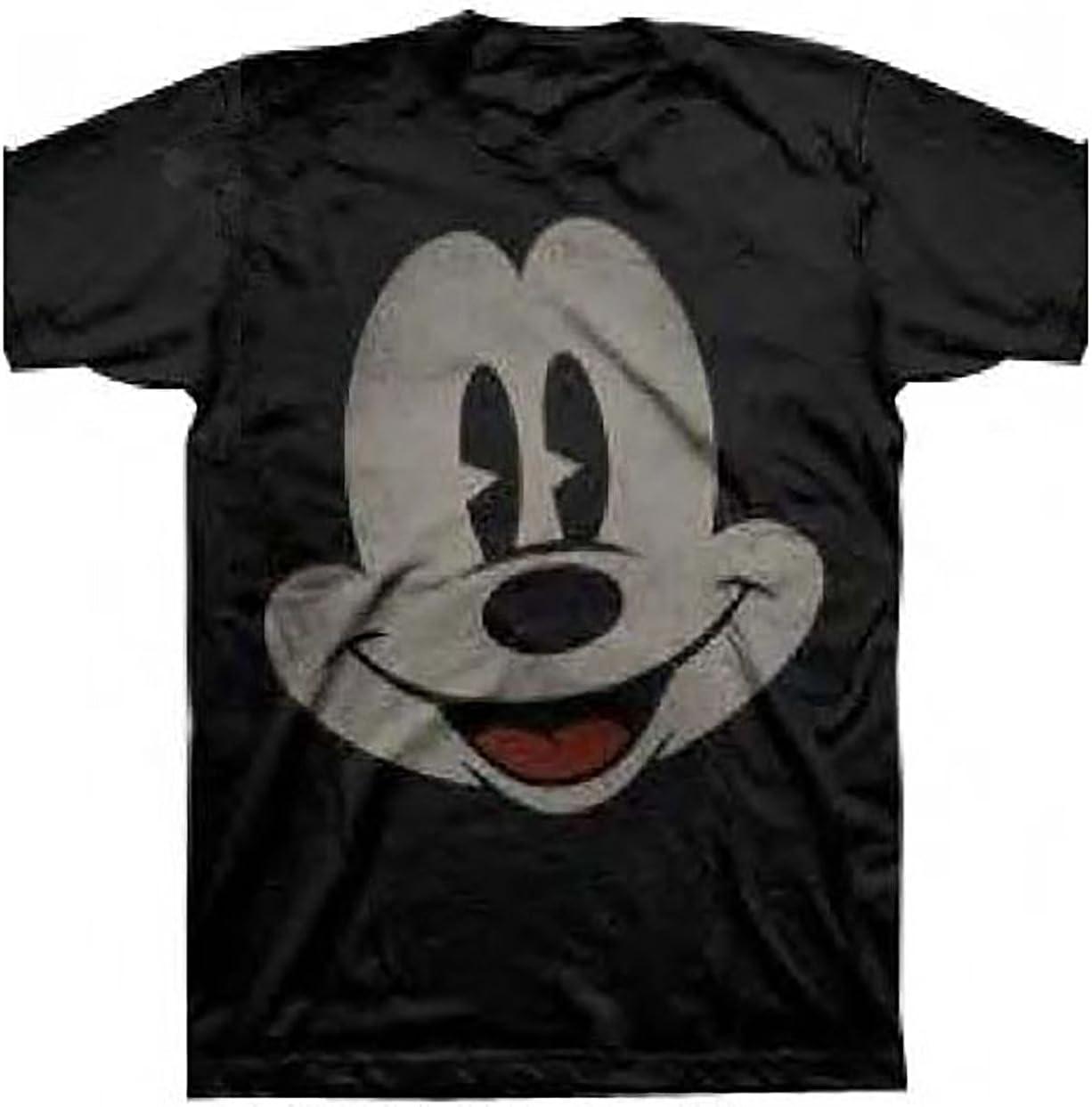 Disney Mickey Mouse Smile Face Boys Fashion Top T shirt