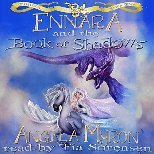 Ennara and the Book of Shadows audiobook cover art