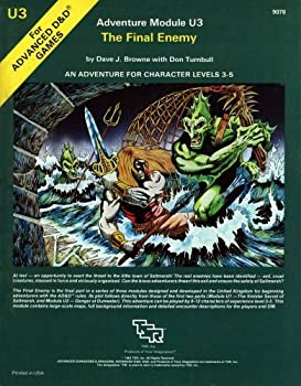 U3 The Final Enemy - Book  of the Advanced Dungeons and Dragons Module #C4