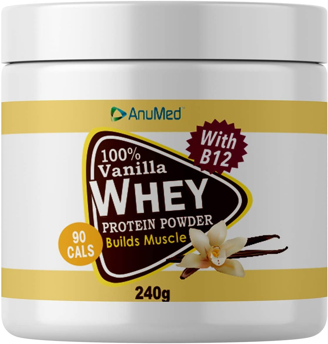 Anumed 100% Whey Vanilla Protein Shake. Isolate. Max 54% Free Shipping New OFF Nutritional Bes