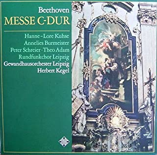 Beethoven: Messe C-dur (für 4 Solostimmen, Chor und Orchester, op. 86) [Vinyl LP] [Schallplatte]