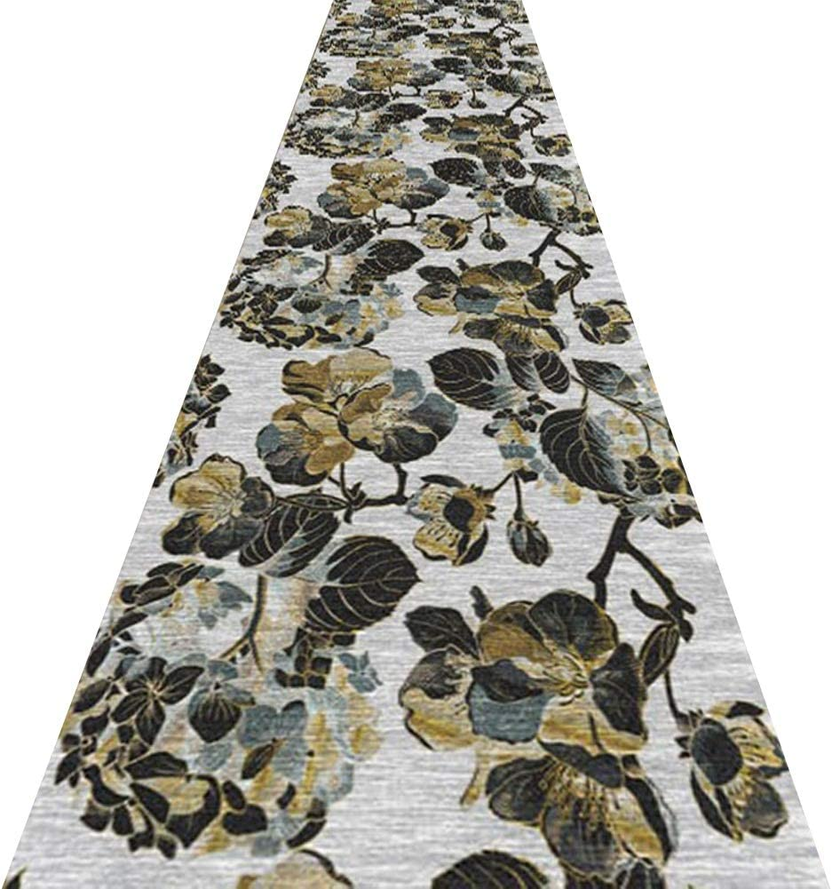 YAOJIA Runners Rugs for hallways with Max Ranking TOP7 72% OFF Carpet Patte Floral Runner