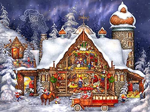 Santa's Barn Jigsaw Puzzle 550 Piece
