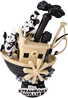 Beast Kingdom Disney Mickey Diorama Steamboat Willie, Multicolor (DS-017)