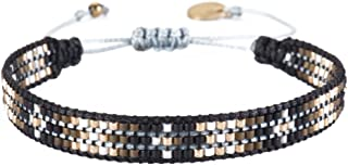 Beaded Friendship-Style Single Strand Bracelet with Adjustable Closure