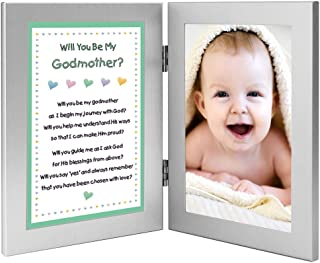 Will You Be My Godmother Keepsake Frame - Add Godchild Photo