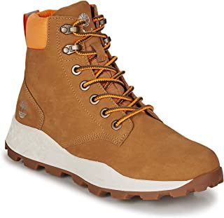 Timberland Brooklyn 6 Inch Mens Wheat Yellow Boots