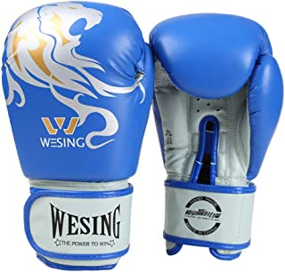 LPing Guantes de Boxeo Sparring ? Punch Bag Fight MMA Muay Thai Grappling Fight Mitts Entrenamiento en Artes Marciales Kickboxing Punching Glove ? tamaños 8oz-14oz