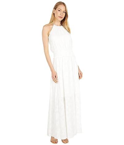 BCBGMAXAZRIA Halter Midi Dress