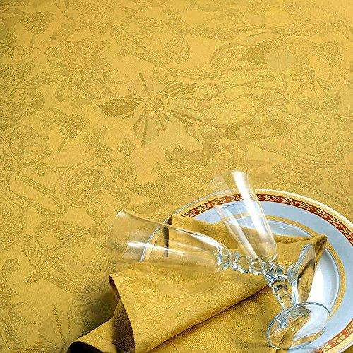 Garnier Thiebaut Tischdecke Myriade Sable 180 x 250 cm