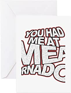 CafePress YOU HAD ME AT MEAT TORNADO Greeting Card, Note Card, Birthday Card, Blank Inside Matte