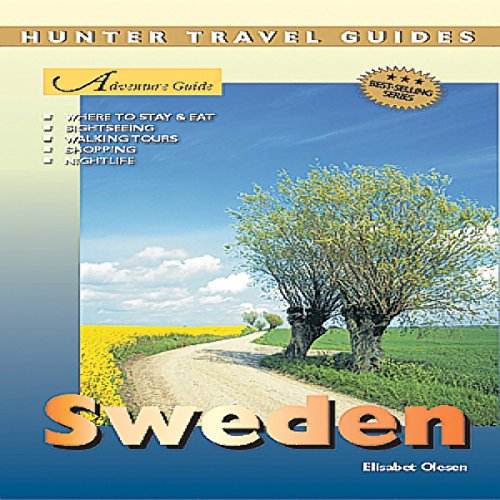 Sweden Adventure Guide audiobook cover art