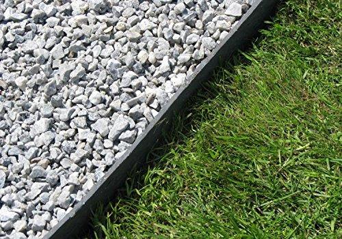 Rasenkante 25 m Beetumrandung Beeteinfassung Mähkante Profilkante 19 cm hoch ECOLAT