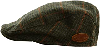Celtic Clothing Company Flat Cap for Men, Irish Tweed, Traditional Style, Made in Ireland