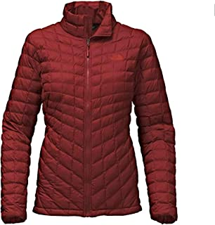 fd2d338063f9 The North Face Women Thermoball Jacket Deep Garnett Red Large