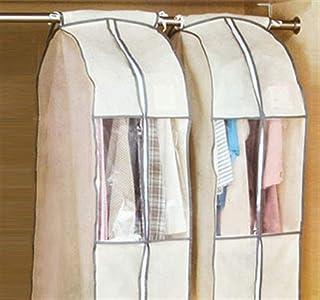 Stéréoscopiques vêtements Vêtements Couvertures, Costume Couverture Protecteur Costume Sac for rangement transparent lavab...