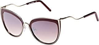 Karl Lagerfeld Women's Oval Red Metal Sunglasses - KL245S 534 56-19-140mm
