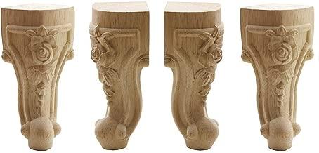 ornate wooden table legs