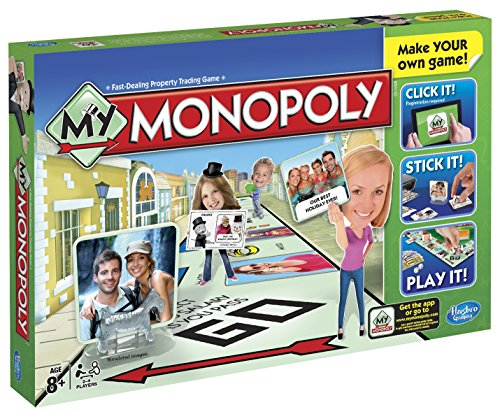 Hasbro A8595103 My Monopoly [Parent] Version: Englisch