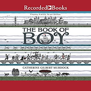 The Book of Boy audiobook cover art