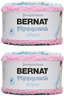 Bernat Pipsqueak Stripes Yarn, Playdate 2-Pack
