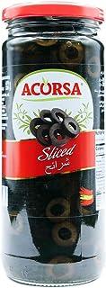 Acorsa Sliced Black Olives 470g
