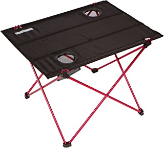 Trekology Foldable Camping Picnic Tables - Portable Compact Lightweight Folding Roll-up Table in a Bag - Small, Light Easy to Carry Camp, Beach, Outdoor