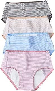 Women's Physiology Underwear Lingerie Panties for Women (4-Pack)