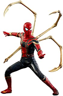 """Hot Toys Marvel Avengers Infinity War Spider-Man Iron Spider Suit 1/6 Scale 12"""" Action Figure"""