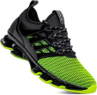 TSIODFO Men's Sneakers Sport Running Athletic Tennis Walking Shoes