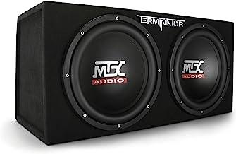 MTX Audio Terminator Series TNE212D 1,200-Watt Dual...