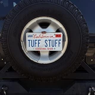 Tuff Stuff Overland TS-TC3BL-LPR-LTAB-KIT Tire Carrier 3rd Brake & License Plate Relocation Kit w/Light Tab
