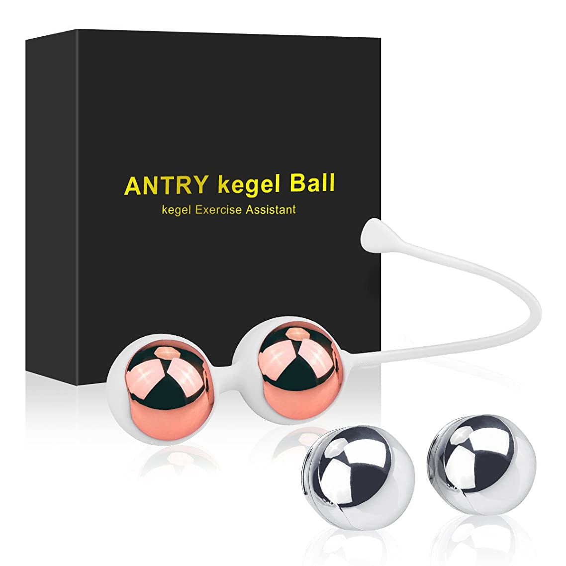 Kegel Exercise Weights - Lilizhou Ben Wa Kegel Balls Weighted Exercise Kit for Beginners or Advanced, Doctor Recommended for Women & Girls Bladder Control and Pelvic Floor Muscle Exercisers