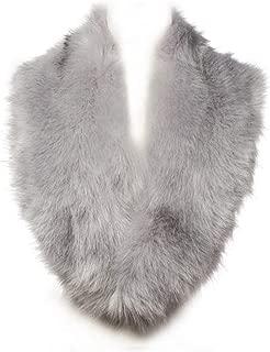 Best light grey faux fur scarf Reviews