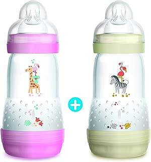 MAM - Biberones anticólico para bebé (de 0 a 6 meses, 2 x ...