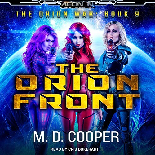 The Orion Front audiobook cover art