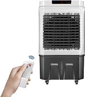 JCOCO Refrigerador de Aire evaporativo de 6000 m³ / h | Ventilador, humidificador, Aire Acondicionado 3 en 1 | Tanque de Agua Grande de 45 l | Velocidad del Viento 4, Ultra silencioso | 150w de ahor