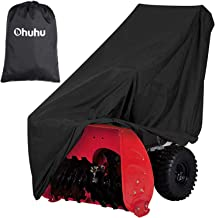 Ohuhu Snow Blower Covers, Double-Layer Heavy Duty Polyester Material & Silver-Coated..