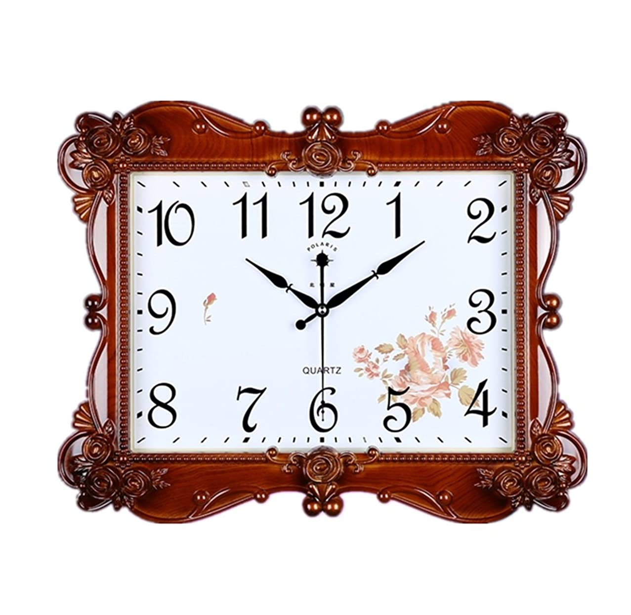 CLOCKZHJI Large Wall Clock, Silent Non Ticking Quality Quartz Battery Operated 20 Inch/51 Cm Easy To Read Home/Office/School Clock (Color : A)