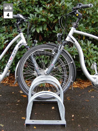 WSM Bogenparker Chemnitz 24 für 4 Fahrräder zweiseitig befahrbar