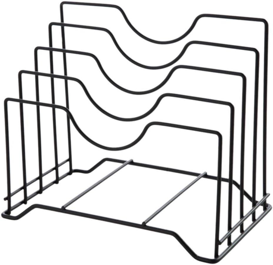 JPMELYRN Pot Max 49% OFF Lid Holder Cabin Storage Rack Long-awaited Organizer