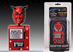Bif Bang Pow! 1 X Twilight Zone Mystic Seer Monitor Mate Bobble Head - Red